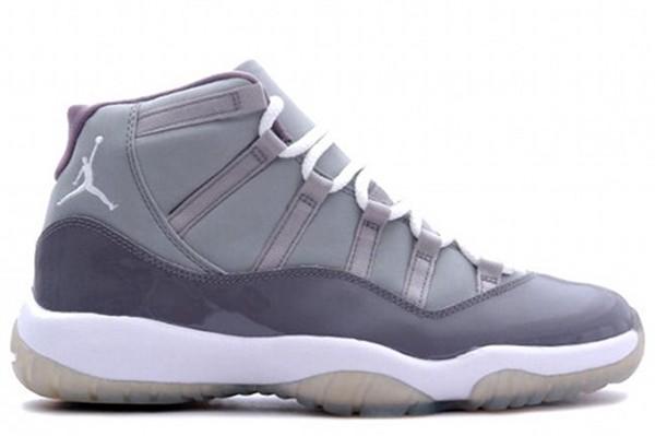 gray jordans 11